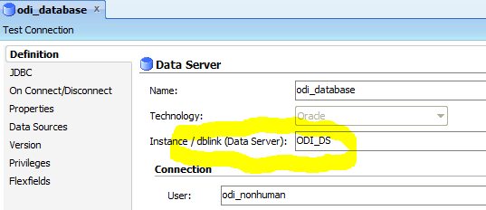 How to Configure LKM Oracle to Oracle (DBLINK) in Oracle Data
