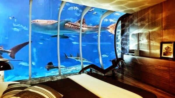A Hotel Under Water In Dubai 1