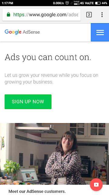 Google Adsense account कैसे बनाए