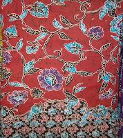 Kain Batik Prima 4918 Merah