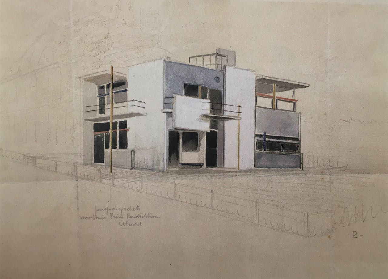 austin cubed: dancing with architecture: Gerrit Rietveld's and Truus Schröder's House, Utrecht, Netherlands