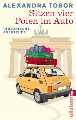 """""""Sitzen vier Polen im Auto"""" von Alexandra Tobor, Roman"""