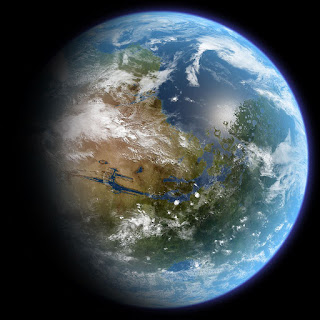 Picture of the Earth from space