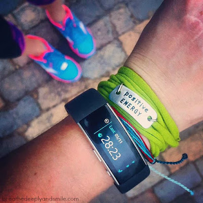 Live Healthier with the new Microsoft Band {Review}