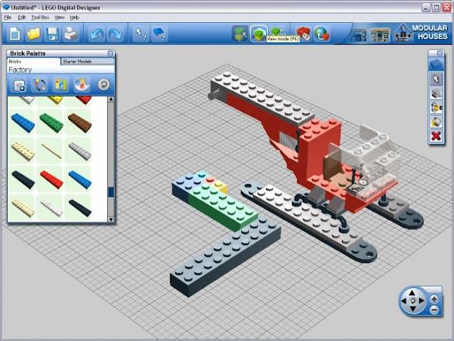 Instrument de modelare 3D LEGO