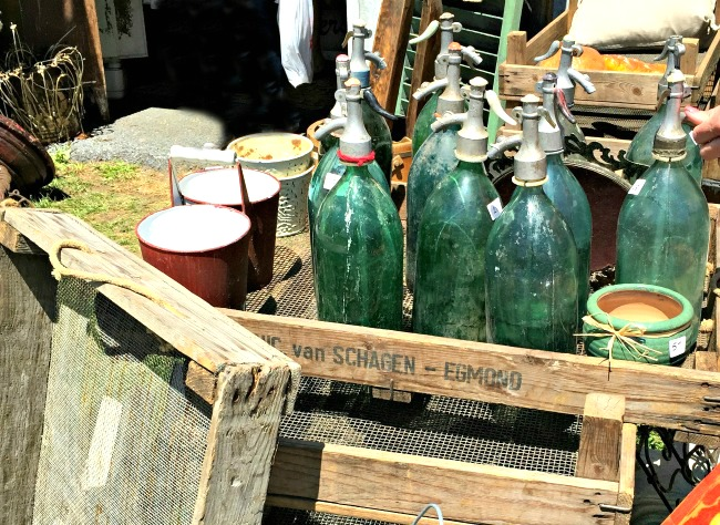 Treasures from the vendors at the Country Living Fair in Rhinebeck, NY