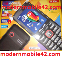 memobile e500 flash file
