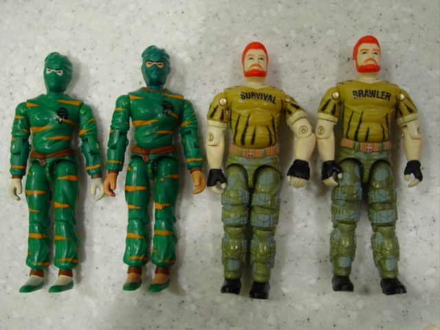 2003, Tiger Force, Jinx, Big Brawler, Outback, Unproduced, Pre Production, Midnight Chinese, Variant, Toys R Us Exclusive