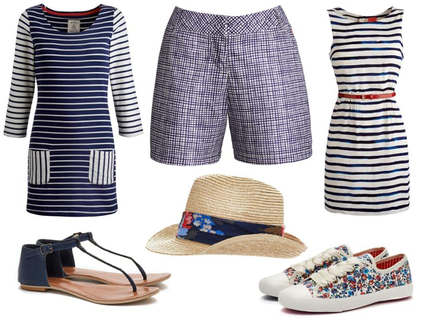 Summer wardrove essentials with Joules.