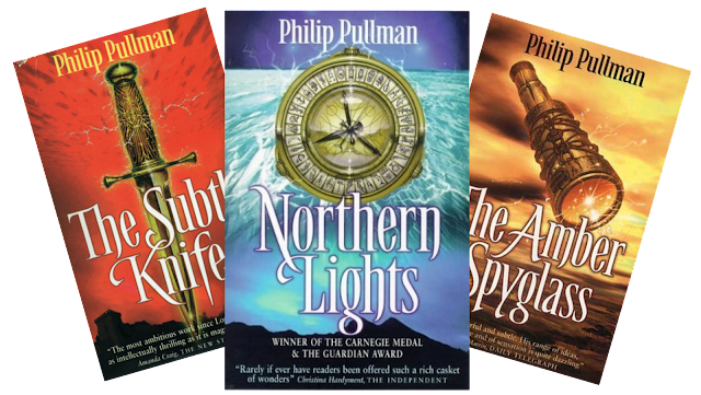 His Dark Materials trilogy book covers