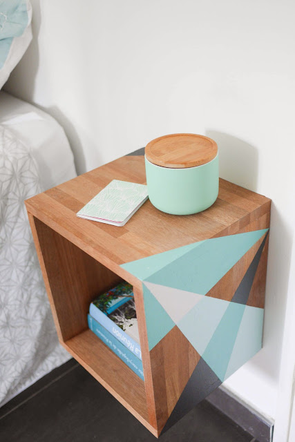 Click to buy FLOATING DIY NIGHTSTAND