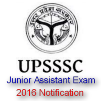 UPSSSC Junior Assistant Recruitment 2016 Notification & Form