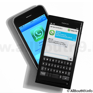 Wazapp is WhatsApp for Nokia N9