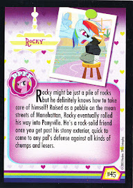 My Little Pony Rocky Series 2 Trading Card