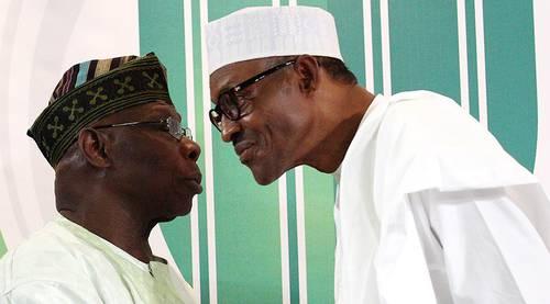 Image result for obasanjo vs buhari