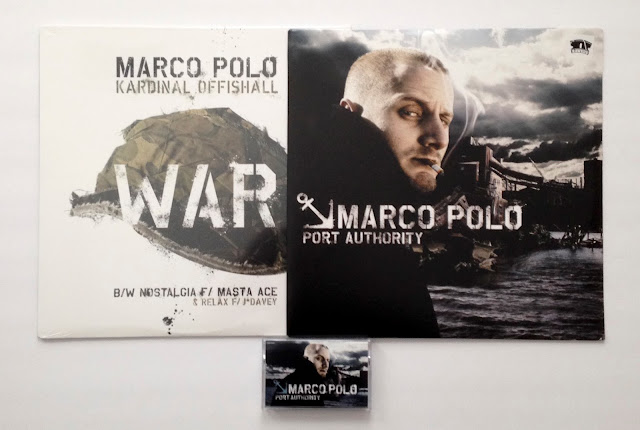 Marco Polo Port Authority Rawkus Cassette Vinyl