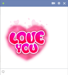 Love You Facebook Emoji