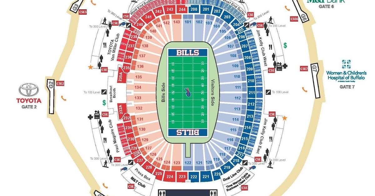 ralph wilson stadium seating