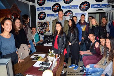 Η επίσκεψη του Λυκείου Κάτω Μηλιάς στο Ράδιο Ενημέρωση 92.2 FM (ΒΙΝΤΕΟ)