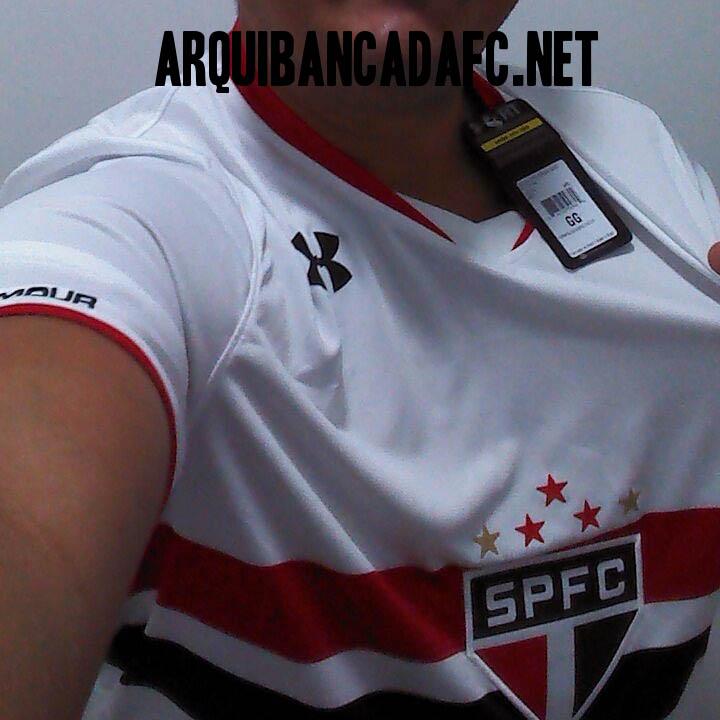 91ee4d13d33 Foto da suposta nova camisa do São Paulo. Seria essa a armadura 01 ...
