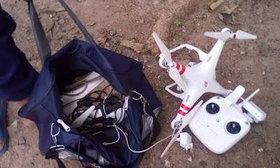 Drone Found at Segun Osoba's Residence