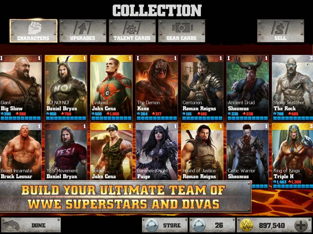 WWE Immortals v1.8.0 Mod Image 2