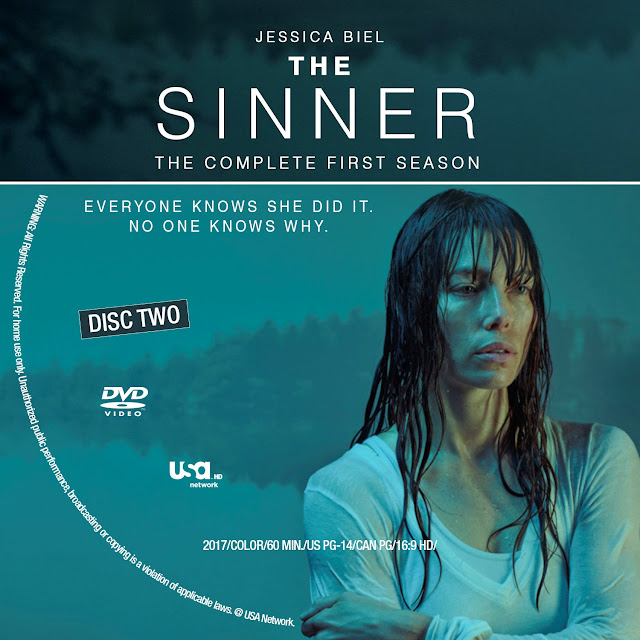 The Sinner Season 1 Disc 2 DVD Label