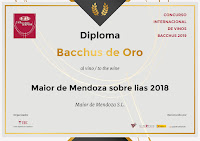 MARCH 2019: NEW AWARDS MAIOR DE MENDOZA