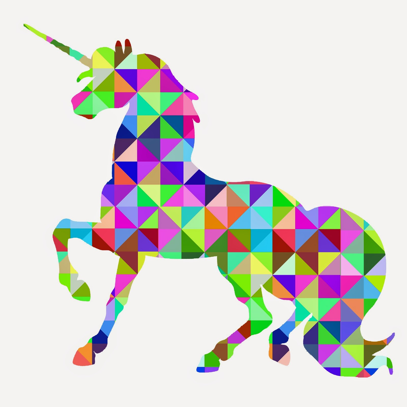 geometric animal geometric unicorn jpg