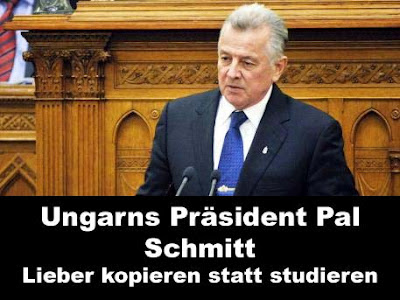 Ungarns Präsident komische Politiker Bilder