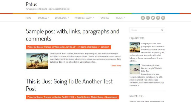 Best SEO WordPress lokking Blogger Templates-TechEarnBlog