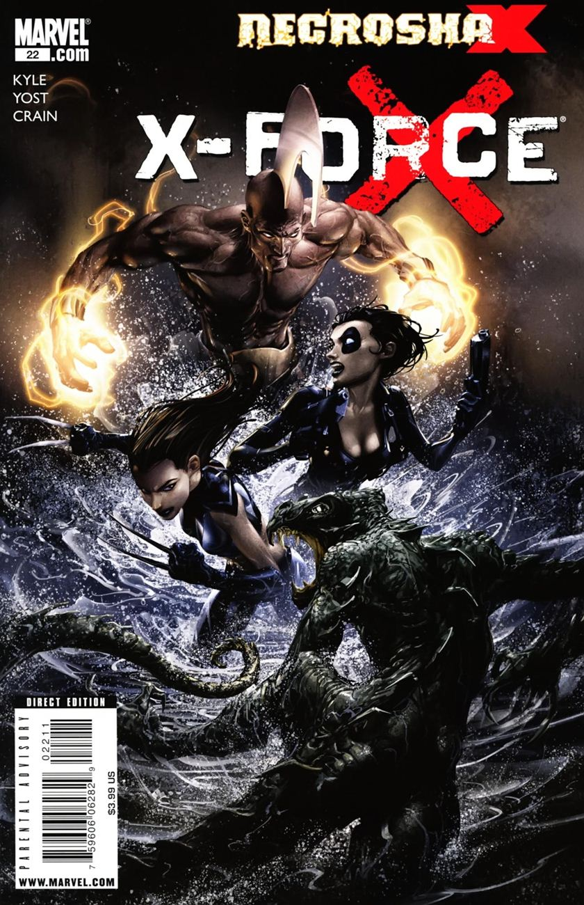 X-Men Necrosha chap 6 trang 1