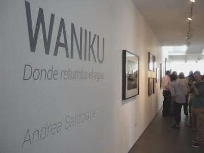 Waniku  exposición fotográfica de Andrea Santolaya en la Galería Freites, fotografía Gladys Calzadilla