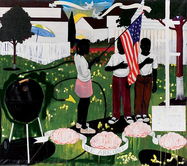 Bang (1994) by Kerry James Marshall
