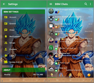 Download BBM MOD Delta 3.7.0 Dragon Ball APK V3.0.1.25 Terbaru