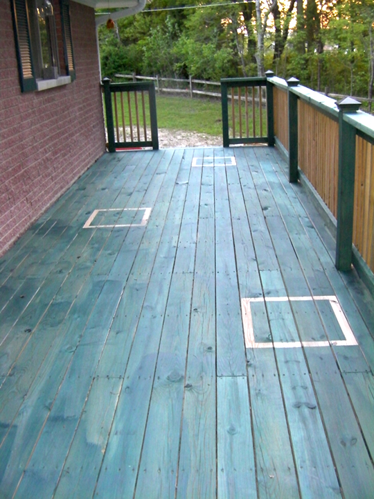 For Those Who Know Us Well Understand That We Cannot Do Anything The Regular Or Normal Mainstream Way So This Lies To Staining A Deck