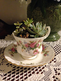 Fairy Garden Girl | Today's Project: Mother's Day Teacup