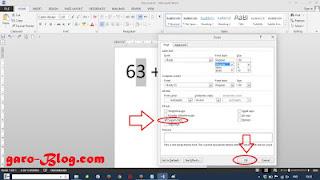 Cara mudah Membuat Pangkat Pada Microsoft Word 2013 - garo-Blog