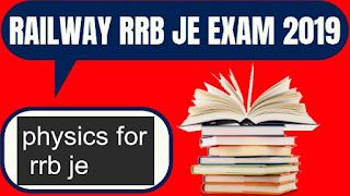 physics for rrb je exam