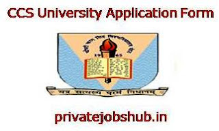 CCS University Application Form