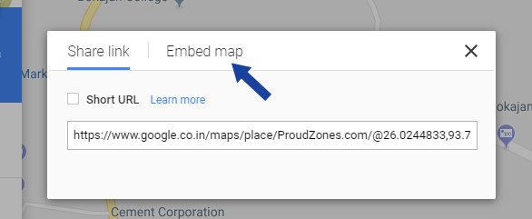 Adding Maps in Blogger