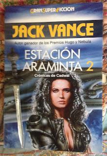 Portada del libro Estación Araminta 2, de Jack Vance