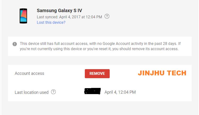 Cara menghapus account  google yang terhubung dengan perangkat lain