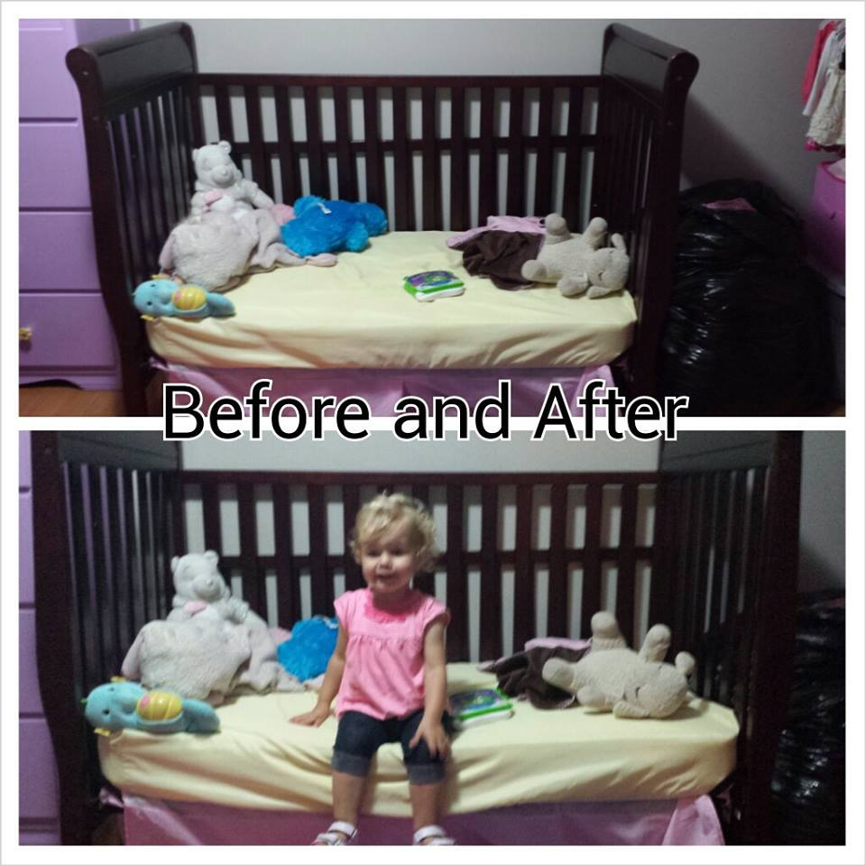 Hillside Mommy Crib To Toddler Bed Transition