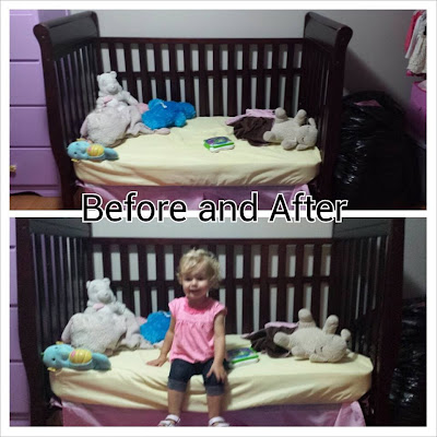 Hillside Mommy: Crib to Toddler Bed Transition