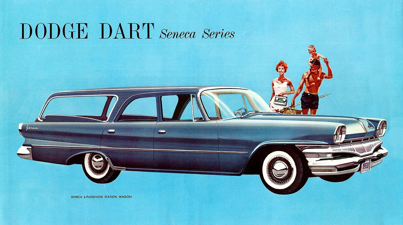 The Seneca was the base model for the Dart in its first year, 1960, and  also in 1961. The mid-level was known as the Pioneer and the top-trim level  was the ...