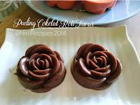 Resep Puding Cokelat Roti Tawar Vla Vanila