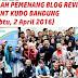 Inilah Pemenang untuk Lomba Blog Review Event KUDO Indonesia di Bandung