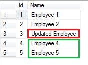 Using MERGE in sql server