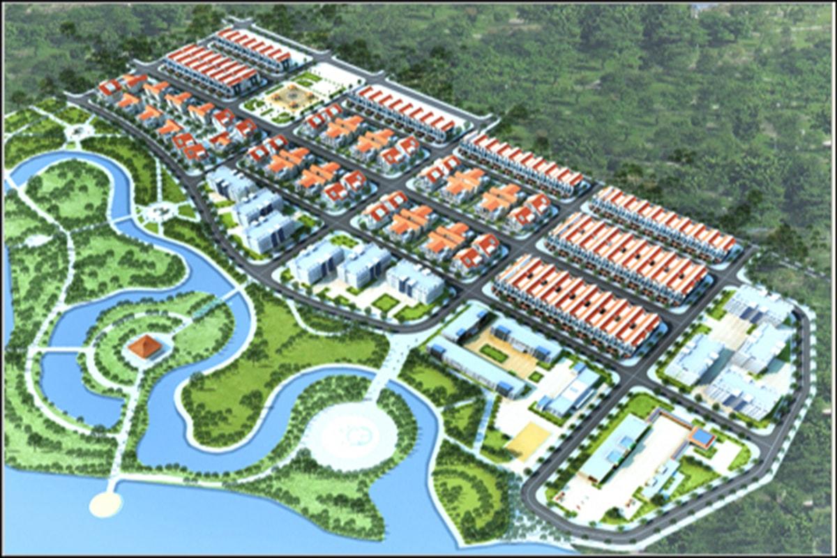 Tổng thể dự án The Diamond Park Mê Linh